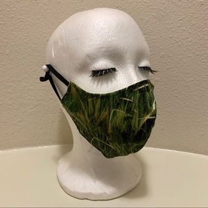 GRASS TRIPLE LAYERED FACE MASK